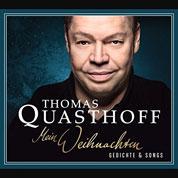 Cover Thomas Quasthoff. Mein Weihnachten – Gedichte & Songs