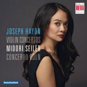 Joseph Haydn: Violin Concertos. Midori Seiler, Concerto Köln. Berlin Classics 0300550BC