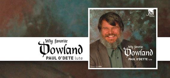 Paul O'Dette - Dowland