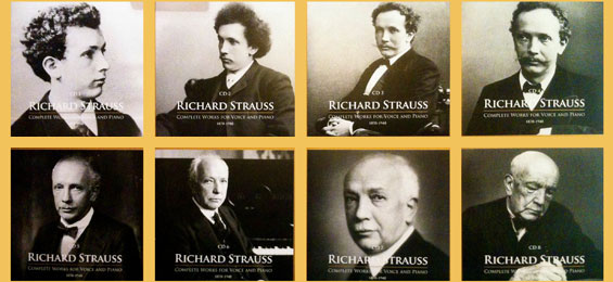 Richard Strauss – Complete Voice and Piano