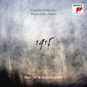 Debussy  - Hahn - 1915 Cover