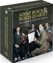 Cover Adolf Busch & Busch Quartet – The Complete Warner Recordings