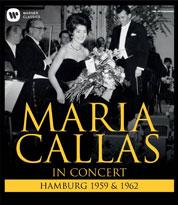 Callas in Hamburg - BlueRay-Cover