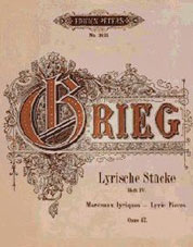 Grieg Notenbuch