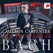 Cameron Carpenter CD-Cover SONY