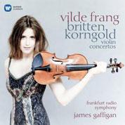 Vilde Frang: Britten Korngold – violin concertos - cover