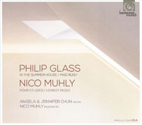 Nico Muhly und Philip Glass. Harmonia Mundi Cover