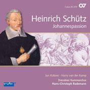 Schütz - Johannespassion - Cover