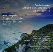 Bach Pergolesi Faure Cover