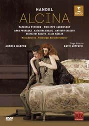 Jaroussky, Philippe Handel: Alcina DVD Cover