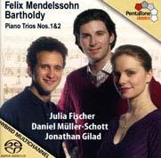 Mendelssohn Piano Trios Cover