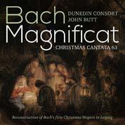 Cover Dunedin Consort - Bach