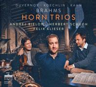 Cover Klieser, Bielow, Schuch: Horn Trios