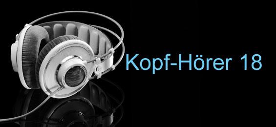 Kopf-Hörer 18