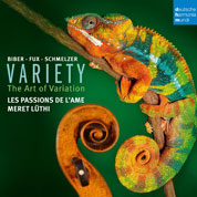 Les Passions de l'Ame: Variety – The Art of Variation COVER