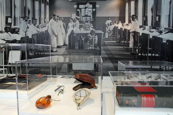 Medizinhistorisches Museum. Foto: Anja Meyer, Foto- und Grafikabteilung UKE. © LNdM / Medizinhistorisches Museum Hamburg/UKE
