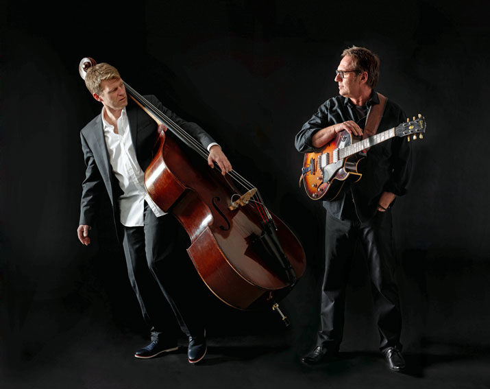 Martin Wind und Ulf Meyer in concert