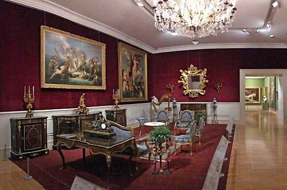 Chimei Museum Raum mit Mobiliar