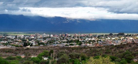 Der oeffentliche Raum und seine Nutzungen Plaetze in San Fernando del Valle de Catamarca, Argentinien