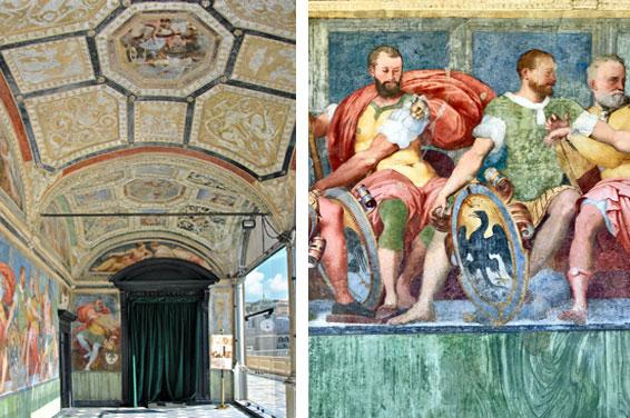 Villa Doria  Der Palazzo des Admirals Andrea Doria Fresken