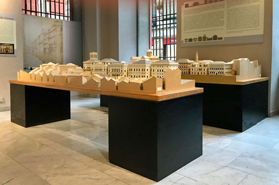 Modell der Via Garibaldi Foto Claus Friede
