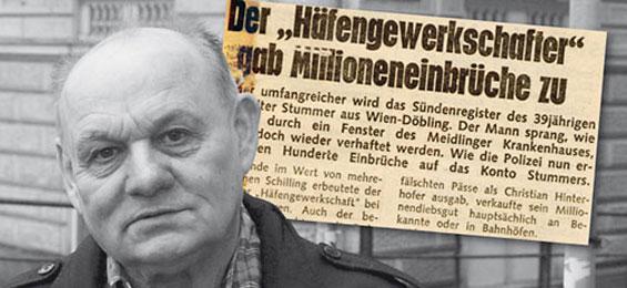 Der Einbrecherkönig von Ernst Stummer
