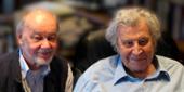 Im Gespräch: Claus Friede mit dem Komponisten und Pianisten Gerhard Folkerts