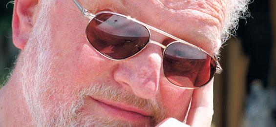 Im Gespräch: Dagmar Seifert mit dem Schriftsteller Uwe Friesel