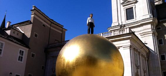 Zwölf Kunstwerke in zehn Jahren – das ist die stattliche Bilanz der Salzburg-Foundation