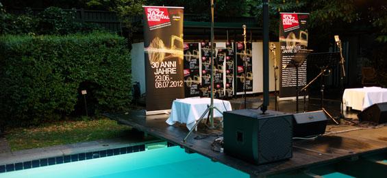 """Jazzfestival Südtirol: """"Diese Gegend besteht darauf, dass Du sie genießt"""""""