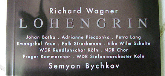 Richard Wagner - Lohengrin cd