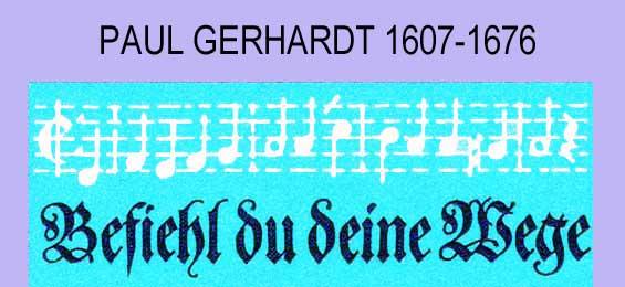 Krieg und innerer Frieden – die Welt des Paul Gerhardt - Teil 1