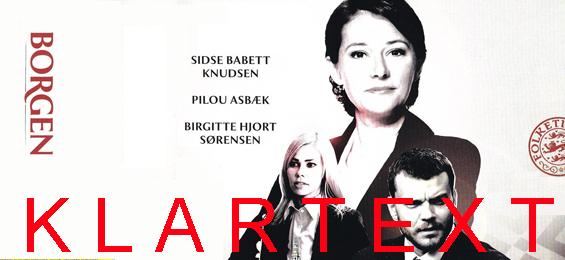 Klartext Peter Schmidt: Borgen – verborgen und ab in die Sparte bei Arte