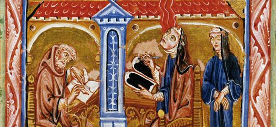 Musik im Mittelalter: Macht der Kirchen und Not der Ketzer, Hildegard von Bingen