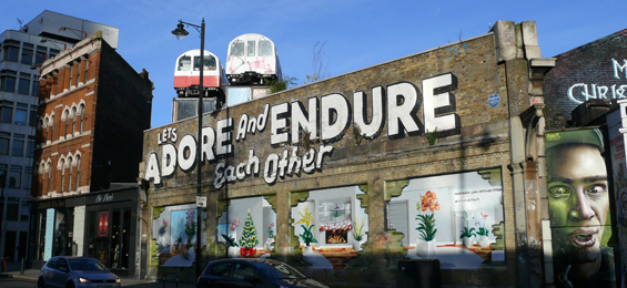 Shoreditch und Spitalfields – Londons East End im Wandel