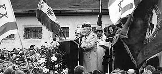 Emil Carlebach. Widerstandskämpfer und ehemaliger Häftling des Konzentrationslagers Buchenwald
