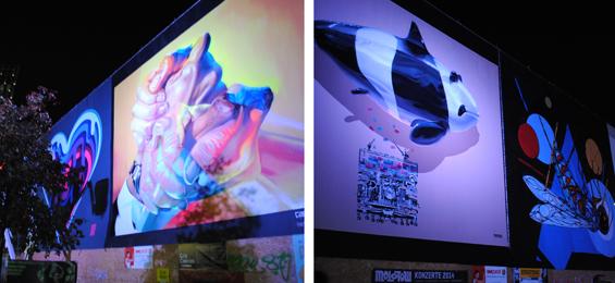 Kunst beim Reeperbahn Festival: Kreative Umnutzung des urbanen Raums