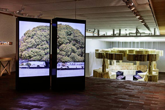 Ausstellungsansicht. Making Space