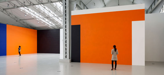 Günther Förg – Wandmalerei