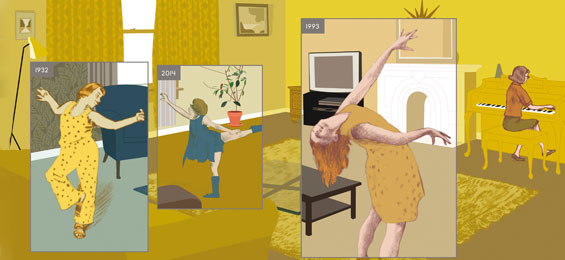 Richard McGuire: Hier