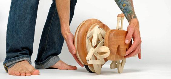 Holz bewegt