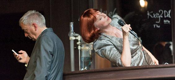 """""""Isoldes Abendbrot"""" – poetischer Liederabend mit Anne Sofie von Otter Foto Simon Hallström"""