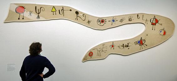 Bucerius Kunst Forum: Miró. Malerei als Poesie