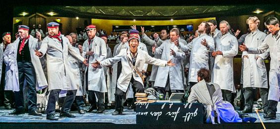 Theater Lübeck - La damnation de Faust - Foto Jochen Quast