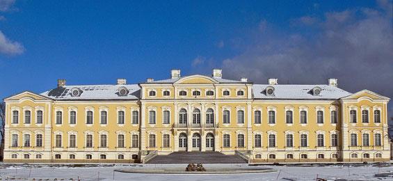 Schloss Rundāle – das lettische Versailles