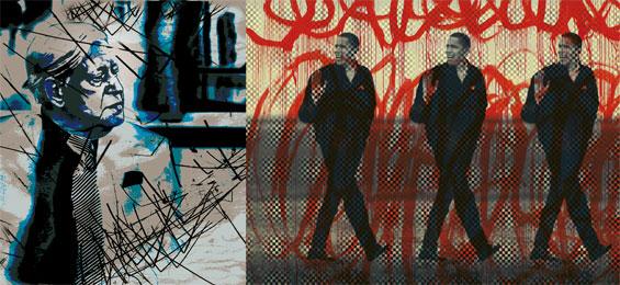"""Ernst-Hermann Ruth: """"Helmut Schmidt meets Barack Obama"""""""