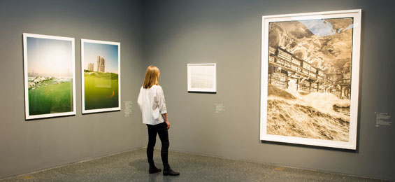 Über Wasser. Malerei und Photographie von William Turner bis Olafur Eliasson