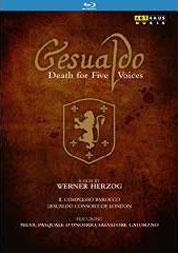 """Werner Herzog: """"Gesualdo – Death for Five Voices"""" DVD"""