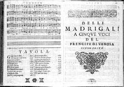 Madrigali Gesualdo