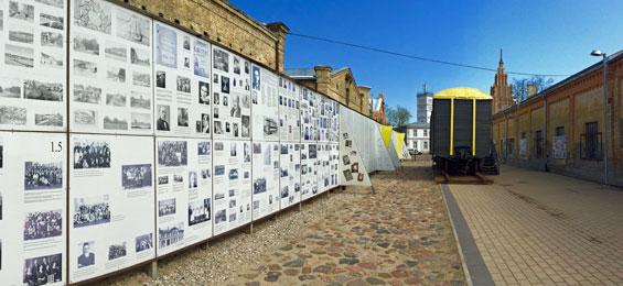 One Way Ticket – eine Zeitreise ins Ghetto- und Holocaust-Museum nach Riga